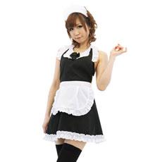 キッチン☆メイド [KH0008BK]キャッ、ご主人様ってば!<br /> 幼少時代を思い出してスカートめくりだなんて…。