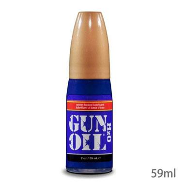 GUN OIL H2O 59mlスーパースムースなウォーターベースローション。<br /> 持続性が高く、長時間のプレイにオススメ!