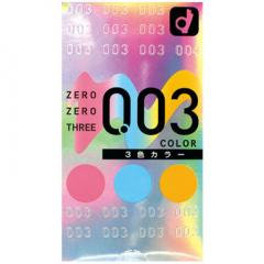アダルトグッズ、12個入/003(ゼロゼロスリー)3色カラーの見本画像3