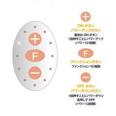 アダルトグッズ、ピンクローター Type-R CCオレンジの見本画像4