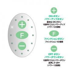 アダルトグッズ、ピンクローター Type-R CCグリーンの見本画像4