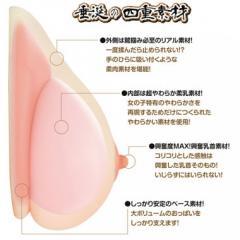アダルトグッズ、リアルボディ極生乳の見本画像4