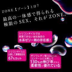 アダルトグッズ、ZONE ゾーン コンドームの見本画像3