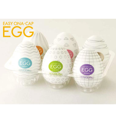 アダルトグッズ・TENGA EGG 6COLORS PACKAGE