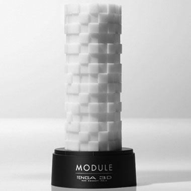 TENGA 3D MODULEひっくり返す、快感のオブジェ。<br /> 不規則な高低差が生む快感のコントラスト。