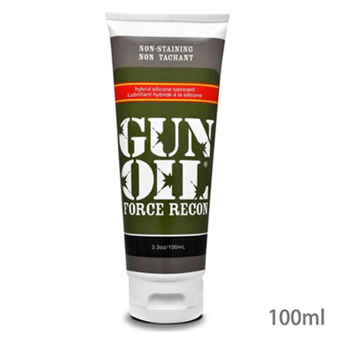 GUN OIL フォース リコン 100mlシリコン&ウォーターベースのブレンドタイプジェル!
