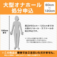 [60~120cm]大型オナホール処分申込